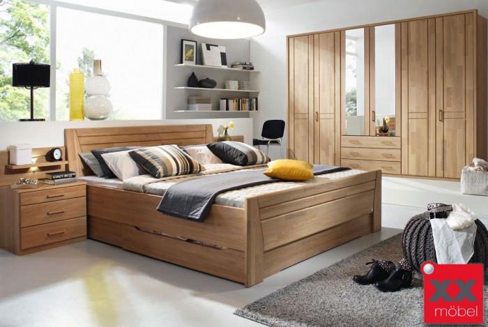 Schlafzimmer | Sitara | Wildeiche teilmassiv | W83
