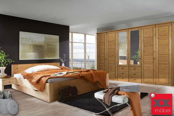 Massivholz Schlafzimmer Rauna Vita Kiefer Massiv