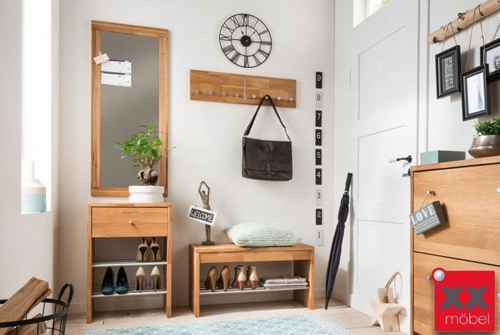 garderoben set massivholz comma wildeiche massiv ge lt s02. Black Bedroom Furniture Sets. Home Design Ideas