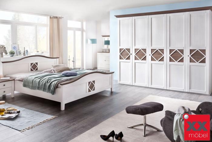 Schlafzimmer | Mistral | Kiefer teilmassiv | P02