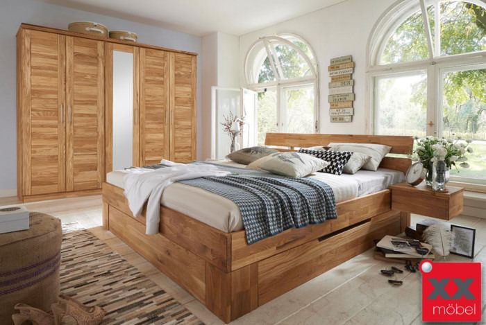 Schlafzimmer | Nixt | Wildeiche Massivholz | S03