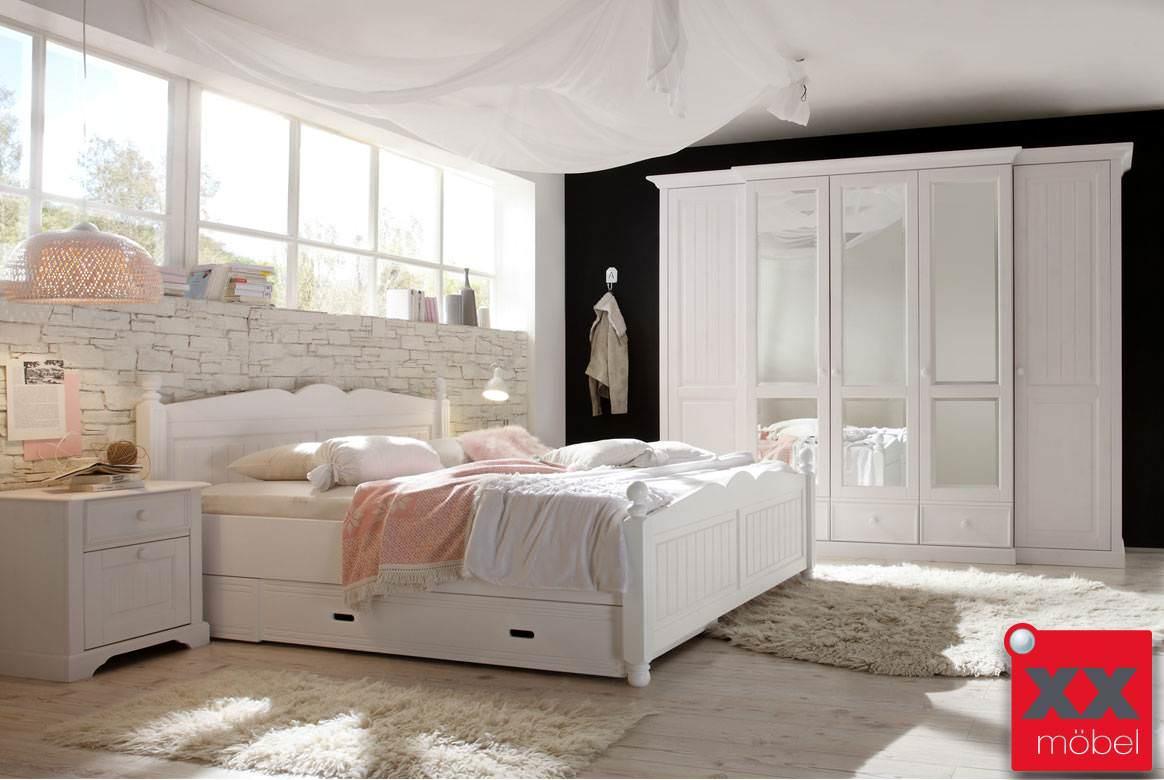 landhausstil schlafzimmer komplett cinderella front. Black Bedroom Furniture Sets. Home Design Ideas