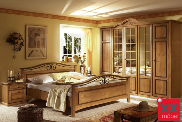 Schlafzimmer Landhausstil | San Remo | Schlafzimmer komplett | D02