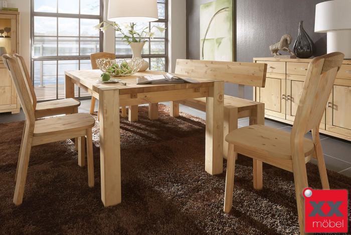 Tischgruppe | Vita | Kiefer Massivholz | T13