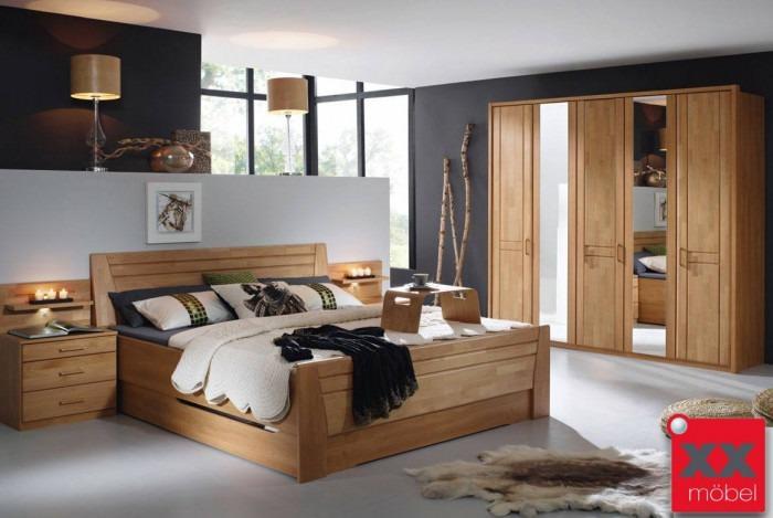 Schlafzimmer | Sitara | Erle teilmassiv | S71