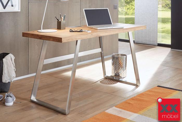 Schreibtisch | Andria | Asteiche Massivholz | T21