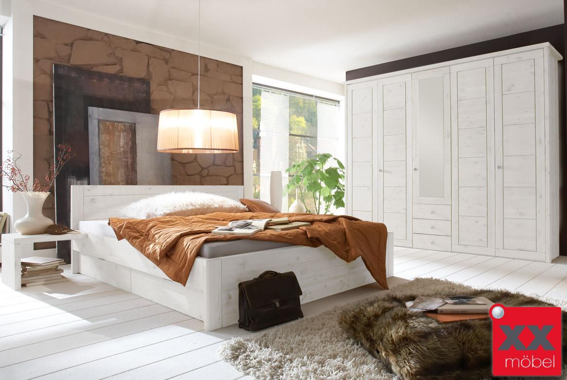 Schlafzimmer | Vita | Kiefer Massivholz | S03