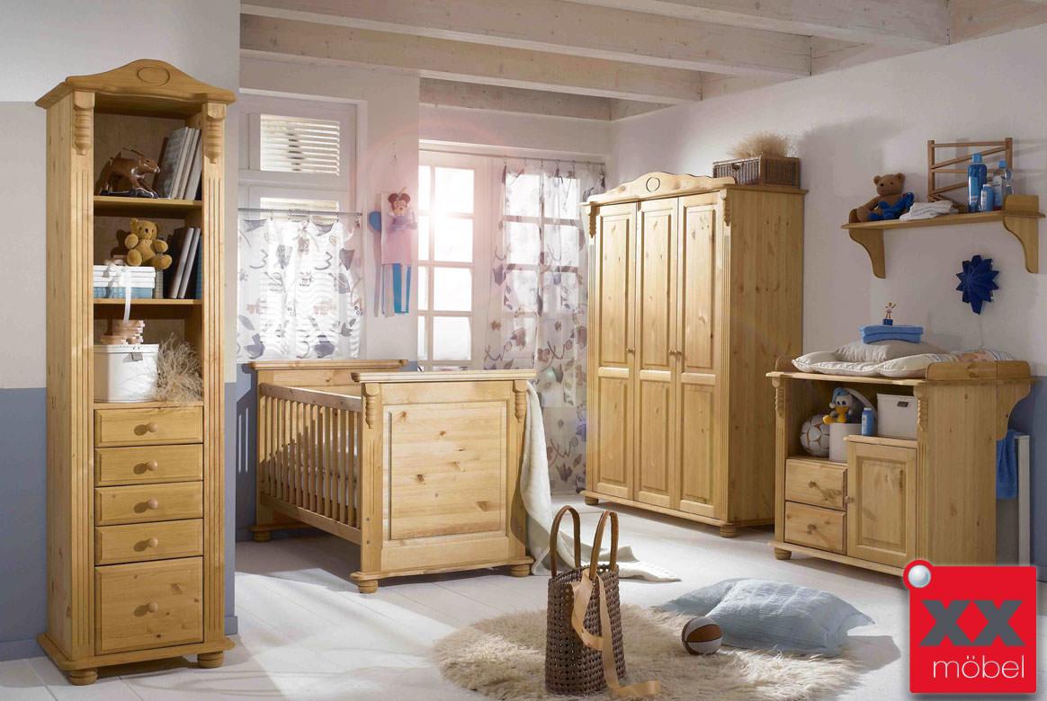 Babyzimmer Landhausstil Roma Kiefer Massivholz