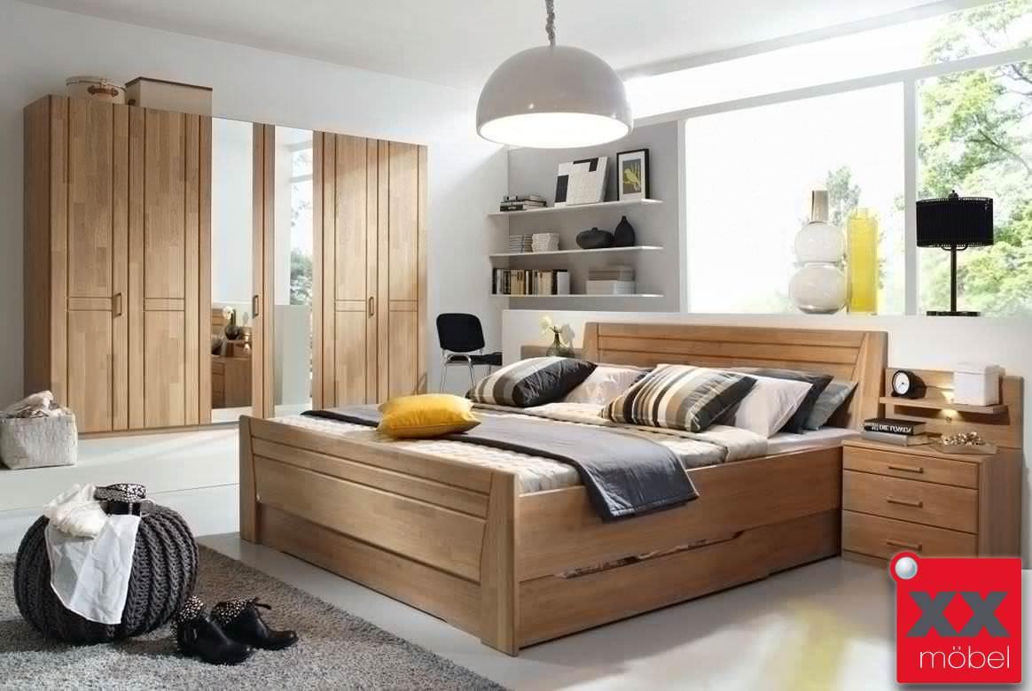 schlafzimmer komplett rauch sitara wildeiche teilmassiv w55. Black Bedroom Furniture Sets. Home Design Ideas