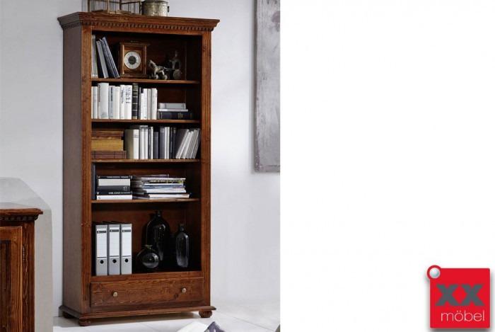 Bücherregal Landhausstil | Valentina | Massivholz Fichte | T60-4G