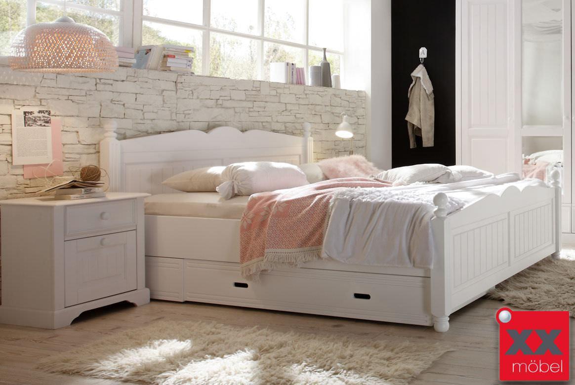 Landhausstil schlafzimmer komplett cinderella front massiv w02 - Cinderella schlafzimmer ...