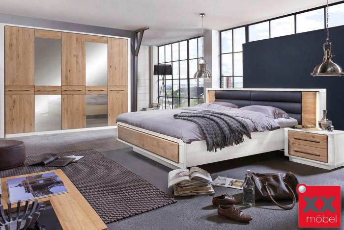 Schlafzimmer | Elba | Asteiche teilmassiv | S02