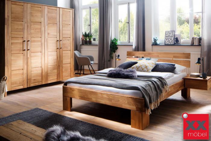 Schlafzimmer | Zent | Wildeiche geölt | S14M
