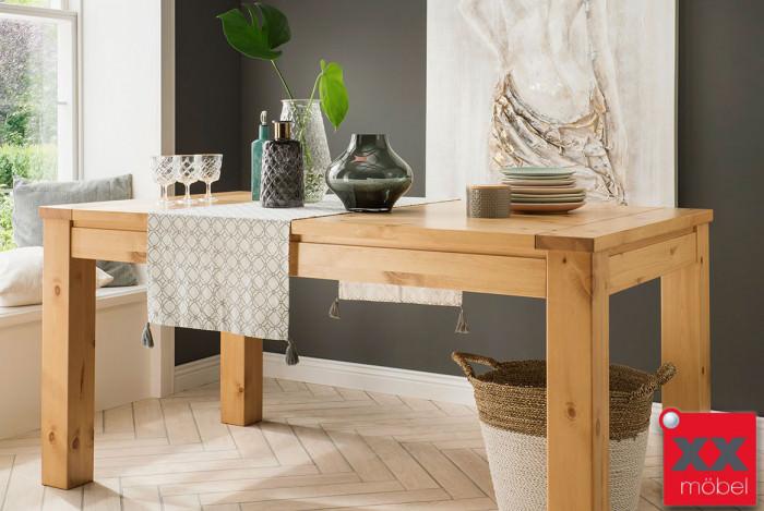 Esstisch | Gotland | ausziehbar Kiefer Massivholz | T17