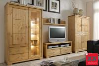 Massivholz Wohnwand Online Kaufen Xxmoebel
