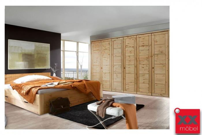 Schlafzimmer komplett Massivholz | Rauna | Kiefer massiv | SK292