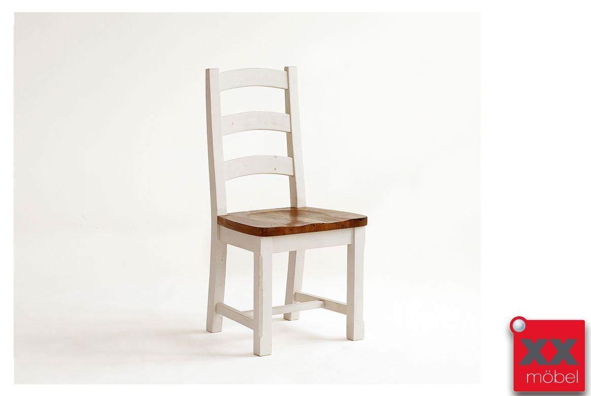 Stuhl Set | 2-tlg. | Bodde | Recycle-Kiefer Massivholz | T45