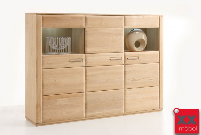 Highboard | Sena | Eiche o. Kernbuche | T05