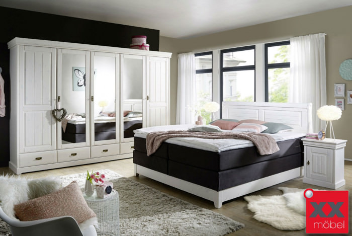 Schlafzimmer | Linea | Kiefer Massiv | S02