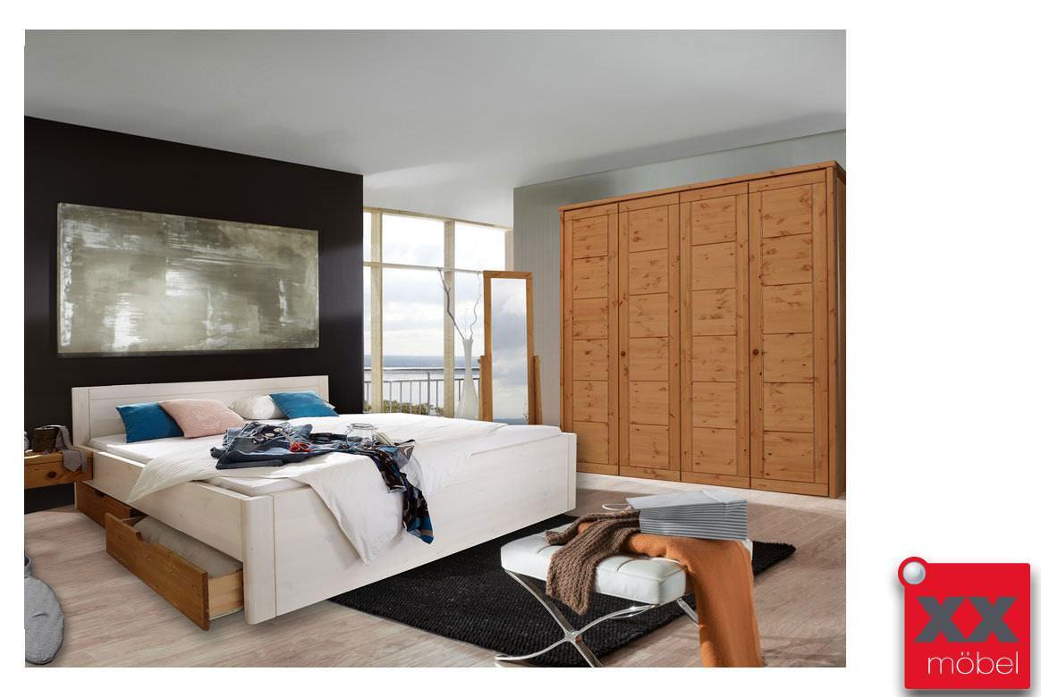 schlafzimmer komplett massivholz rauna kiefer massiv