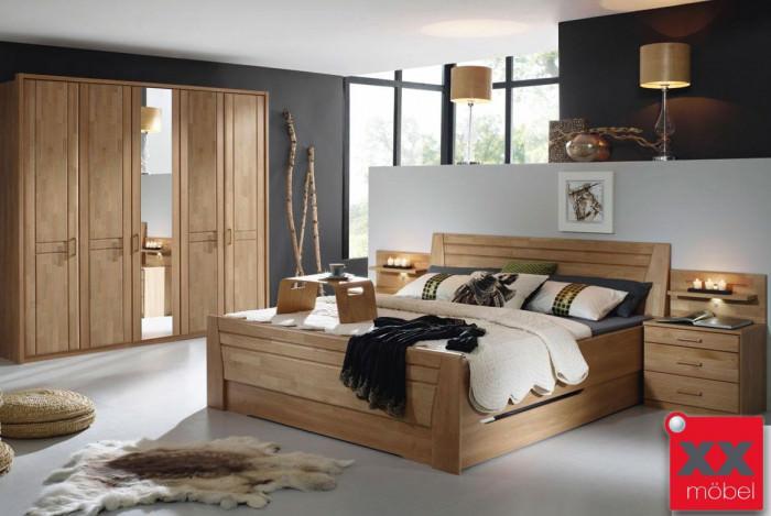Schlafzimmer | Sitara | Wildeiche teilmassiv | W44