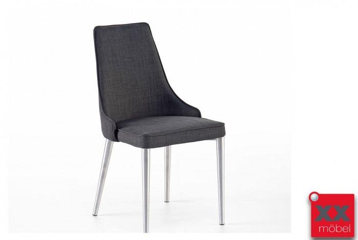 Esszimmerstühle | Elara | Feingewebe grau | EB1