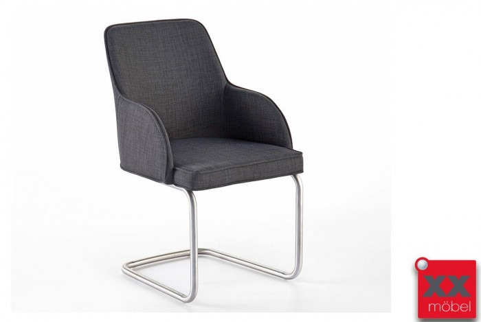 Esszimmerstühle | Elara | Feingewebe grau | EC2