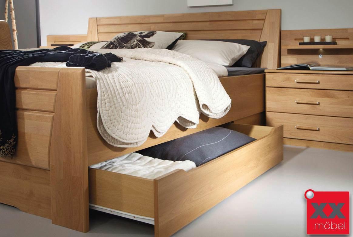 Schlafzimmer komplett Rauch | Sitara | Wildeiche teilmassiv | W59