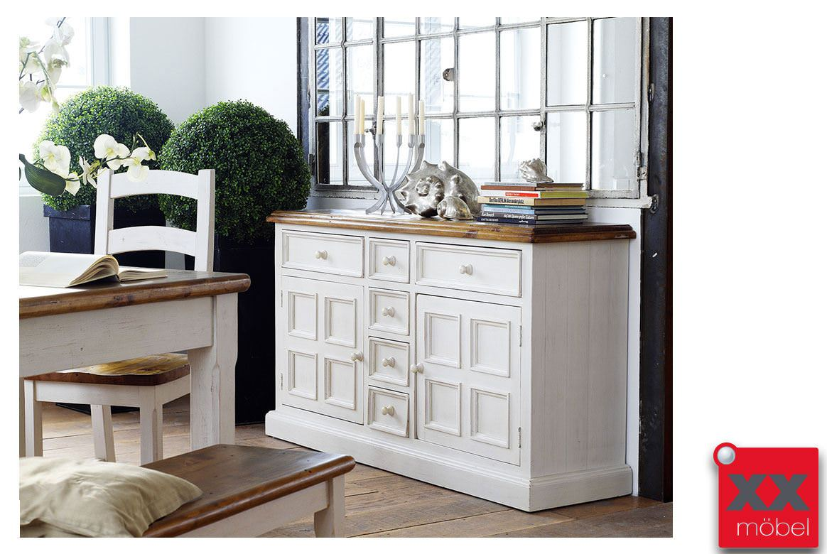 kommode landhausstil bodde recycle kiefer massivholz t03. Black Bedroom Furniture Sets. Home Design Ideas