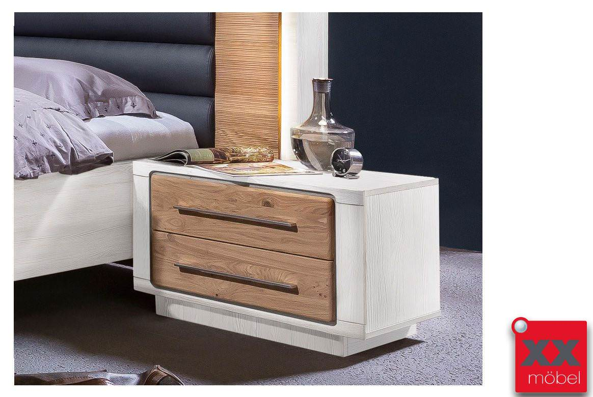 nachttisch landhausstil elba asteiche teilmassiv b60. Black Bedroom Furniture Sets. Home Design Ideas
