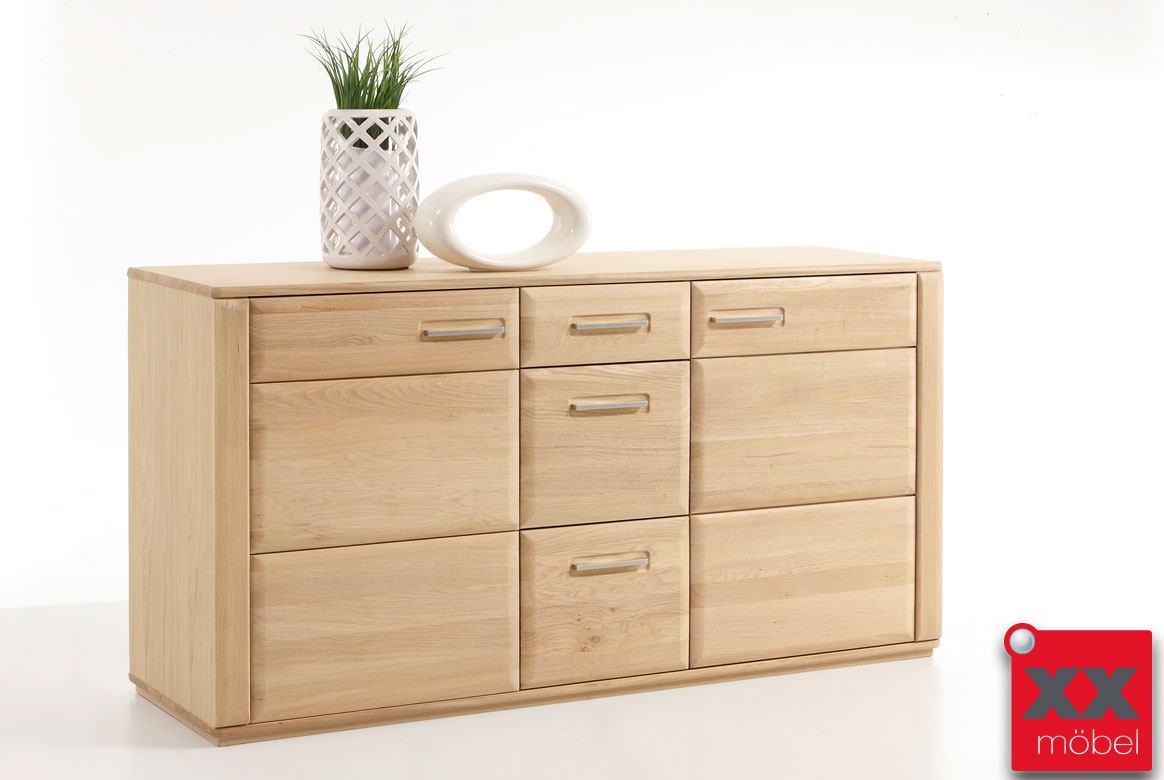 sideboard eiche teilmassiv sena eiche o kernbuche t01. Black Bedroom Furniture Sets. Home Design Ideas