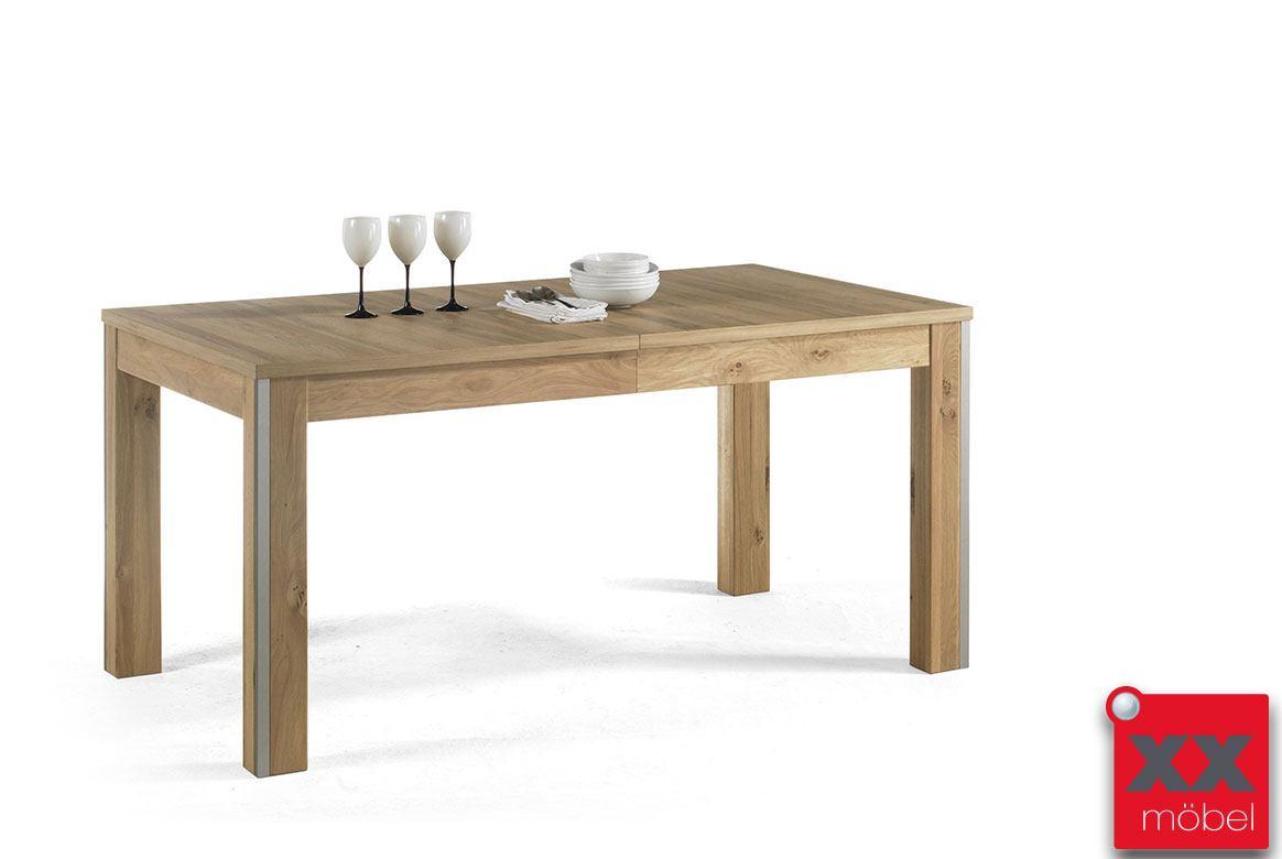 esszimmertisch ausziehbar modern espero asteiche furniert t60. Black Bedroom Furniture Sets. Home Design Ideas