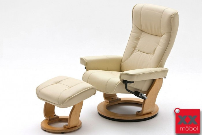 relaxsessel g nstig leder creme mca relaxsessel kaufen cn5. Black Bedroom Furniture Sets. Home Design Ideas