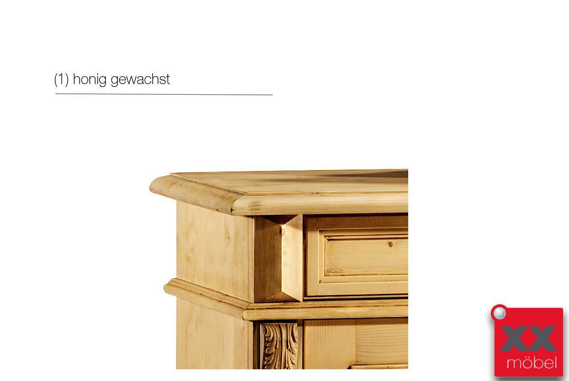 Vertiko Landhausstil Isabella Fichte Massivholz T65