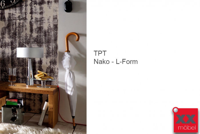 Nachtkonsole L-Form | TPT I | Wildeiche geölt | N30