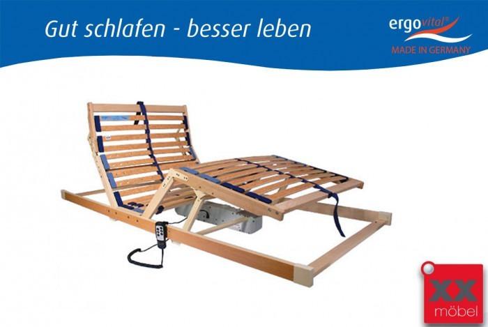 ergoflex motor lattenrost 90x200 cm ergovital liegefl che flex. Black Bedroom Furniture Sets. Home Design Ideas