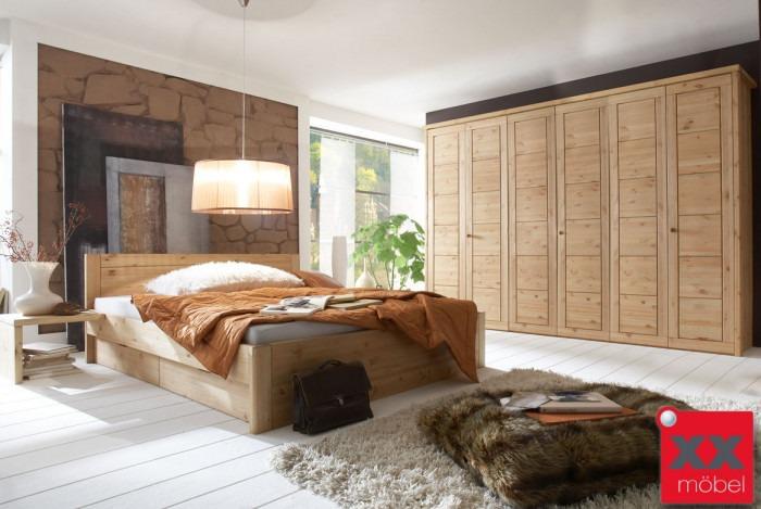 Schlafzimmer | Vita | Kiefer Massivholz | S02