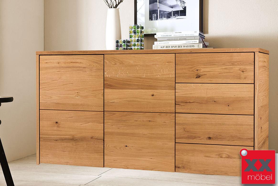 kommode massivholz m h widleiche massiv ge lt f4. Black Bedroom Furniture Sets. Home Design Ideas
