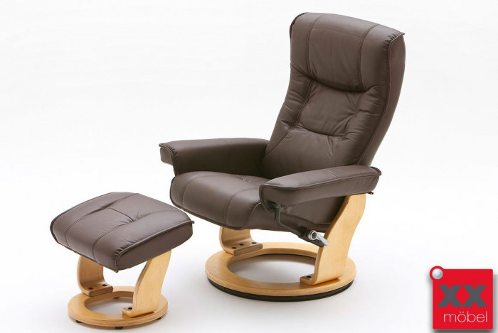 relaxsessel g nstig leder braun mca relaxsessel kaufen bn5. Black Bedroom Furniture Sets. Home Design Ideas