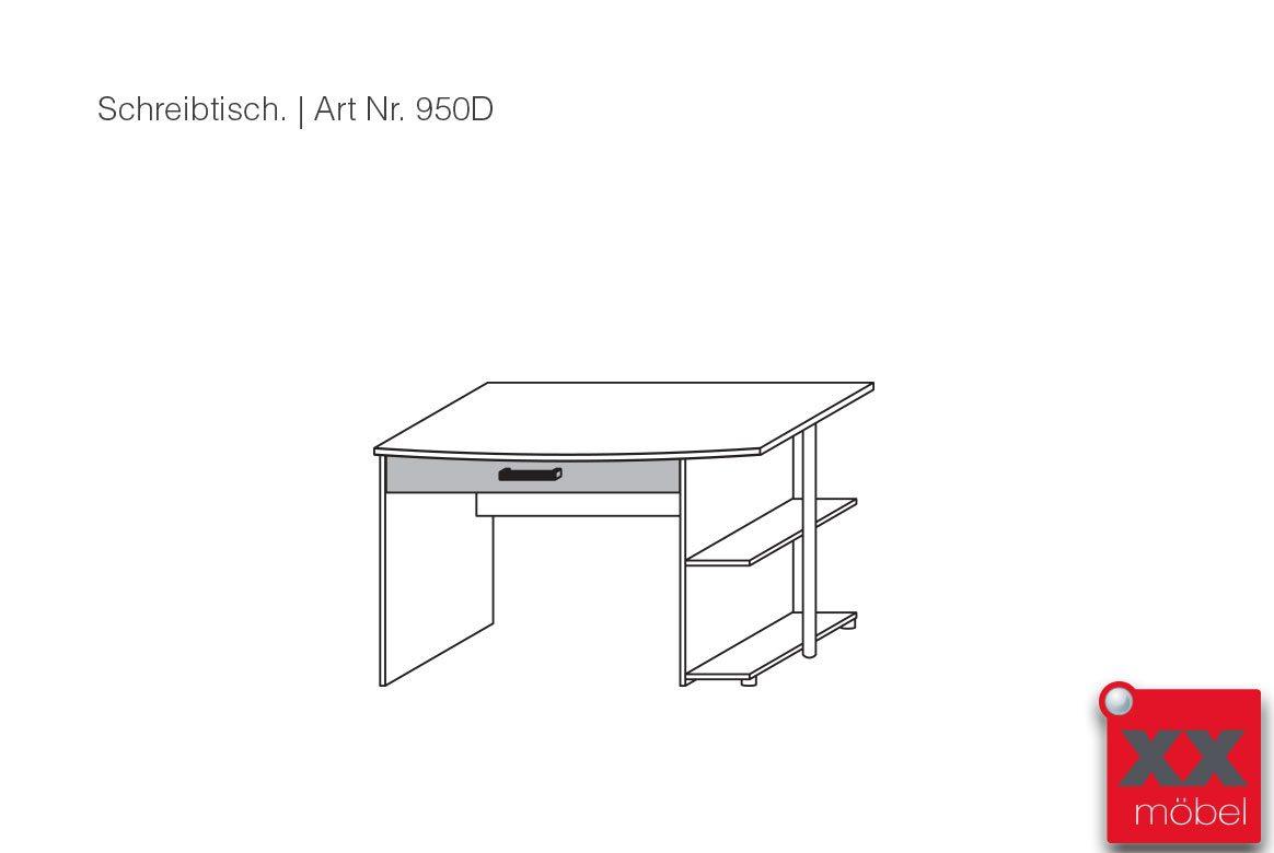 Kinderzimmer konfigurator g nstig samira starter for Schreibtisch 0484