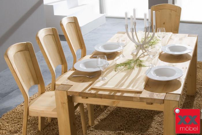 Tischgruppe | Vita | Kiefer Massivholz | G01