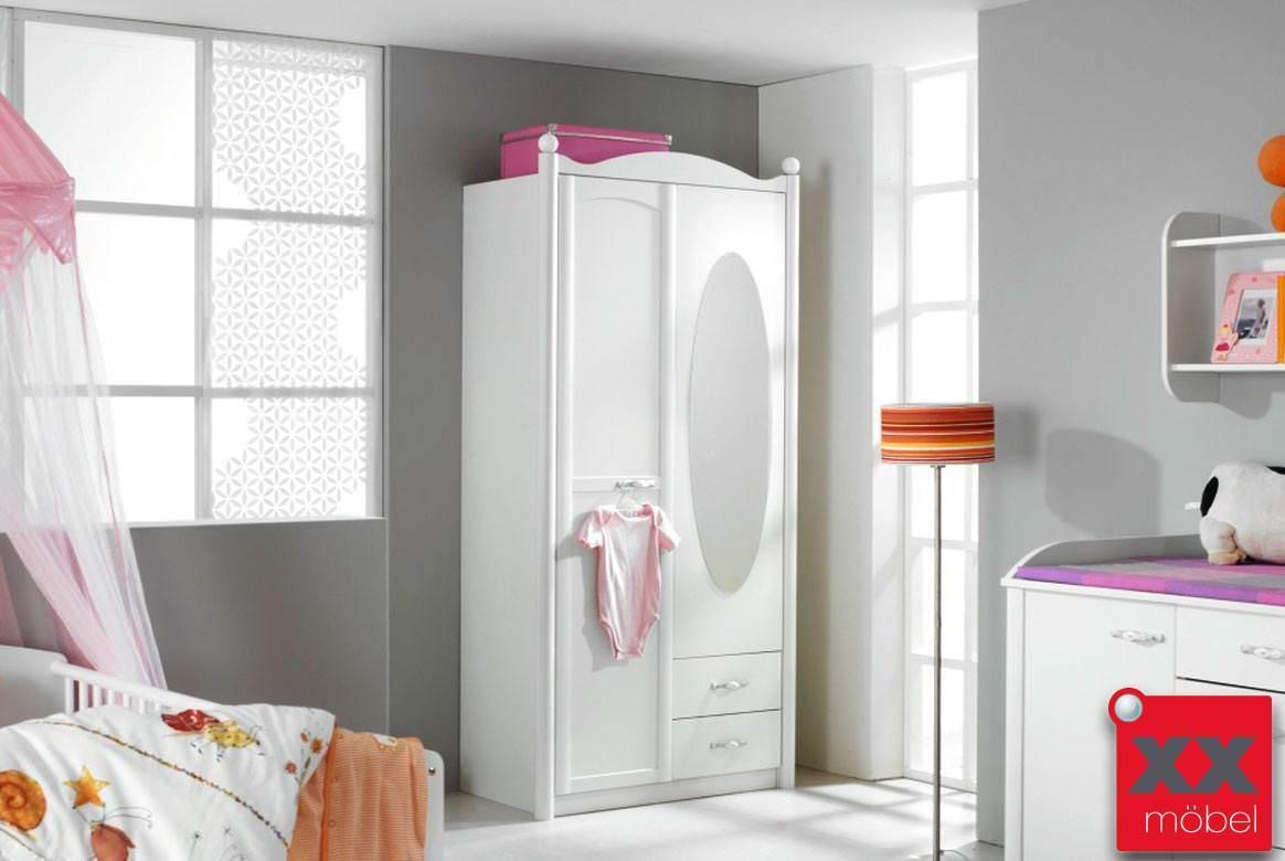 baby kleiderschrank lilly 2 oder 3 t rig mit spiegel t29. Black Bedroom Furniture Sets. Home Design Ideas