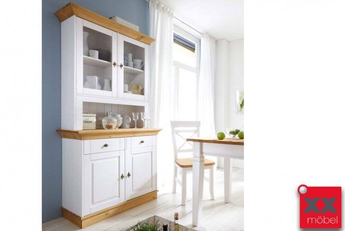 buffetschrank landhausstil linea massivholz kiefer t23. Black Bedroom Furniture Sets. Home Design Ideas