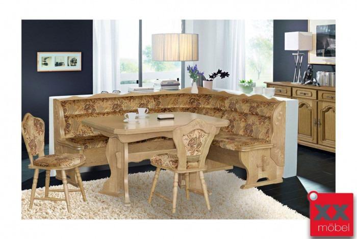 eckbankgruppe landhausstil brooklyn eiche teilmassiv p43. Black Bedroom Furniture Sets. Home Design Ideas