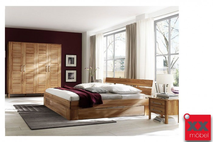 Schlafzimmer | Zenna | Rotkernbuche massiv | K02