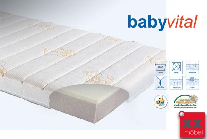 Babymatratze | Babyvital | Kaltschaum H2 | T70