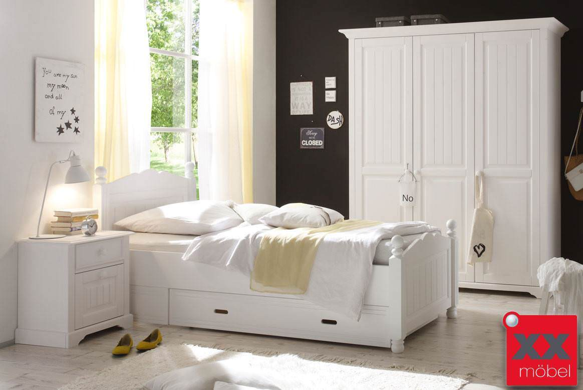 kinderzimmer landhausstil weiss cinderella kiefer. Black Bedroom Furniture Sets. Home Design Ideas