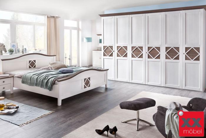 Schlafzimmer | Mistral | Kiefer teilmassiv | P05