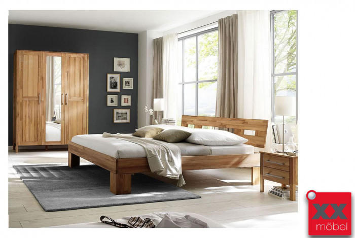Schlafzimmer | Modset | Kernbuche massiv | K05