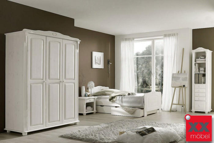 landhausstil kinderzimmer weiss romantik kiefer. Black Bedroom Furniture Sets. Home Design Ideas